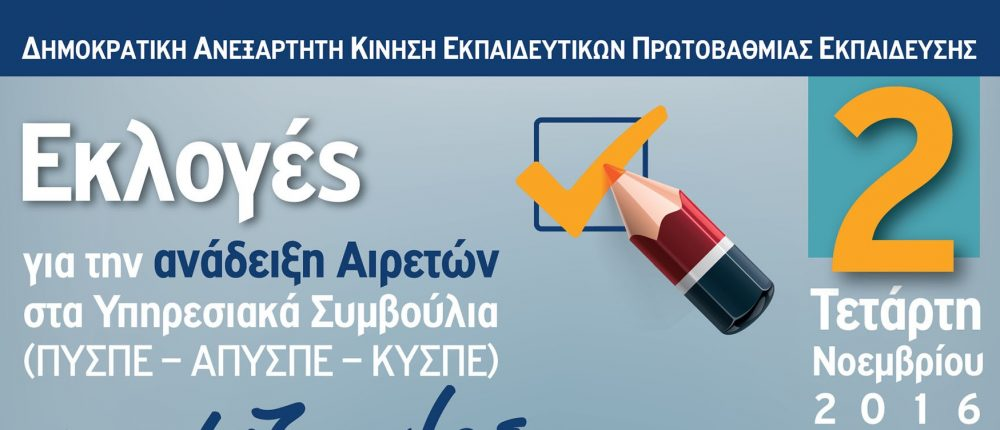 Αφίσα Εκλογών